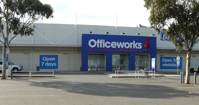 Officeworks, Warrigal Road, Chadstone