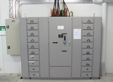 Commercial switchboard